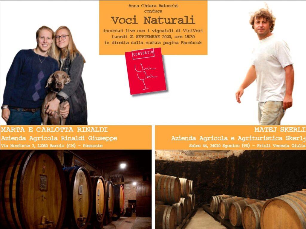 21 settembre 2020 – 10° appuntamento con Voci Naturali – Rinaldi/Skerlj